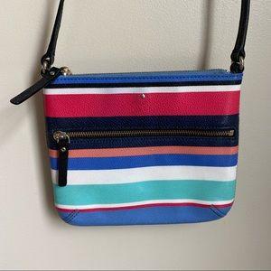 Kate Spade Stripe Crossbody Bag
